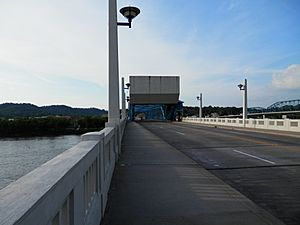 Market Street Bridge Downtown Chattanooga