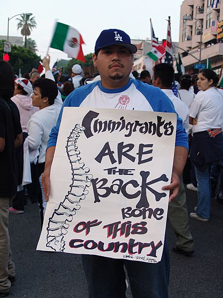 May Day Immigration March LA60