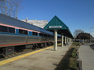 Northeast Regional at Meriden, November 2013