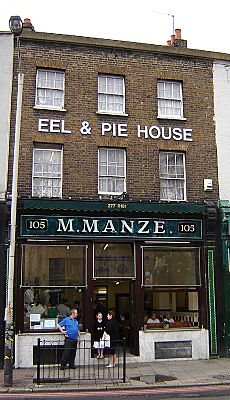 Peckham eel and pie