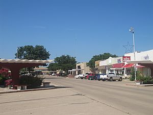 Revised photo of downtown Littlefield, TX IMG 4778