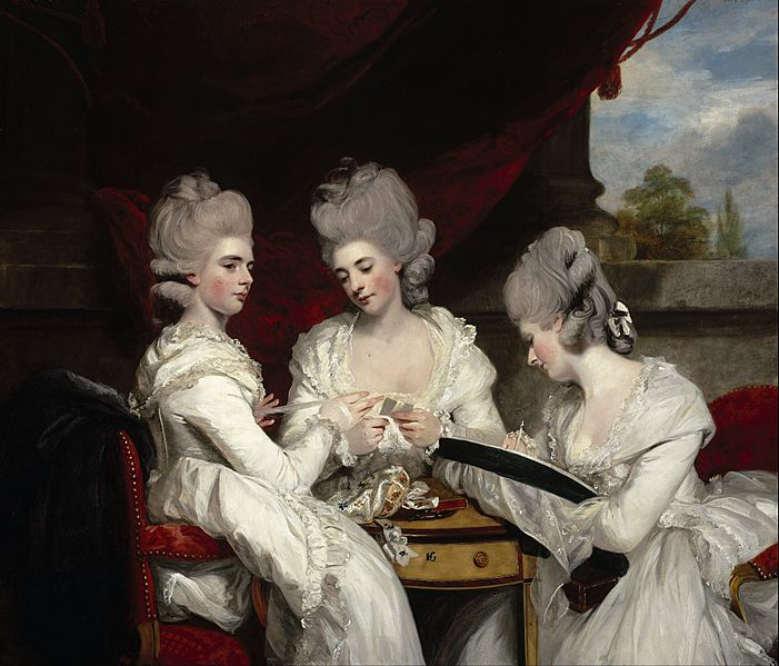 Sir Joshua Reynolds - The Ladies Waldegrave - Google Art Project
