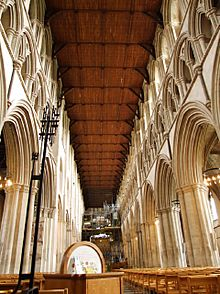 St Albans Cathedral Interior
