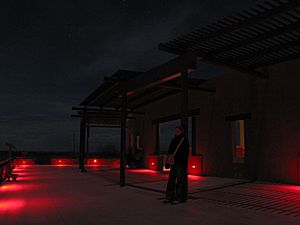 USA Marfa Lights Viewing Platform TX