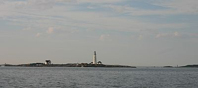 Boston Light on Little Brewster