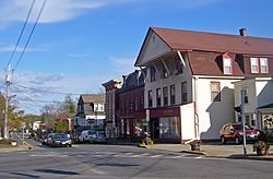 East Main Street, downtown