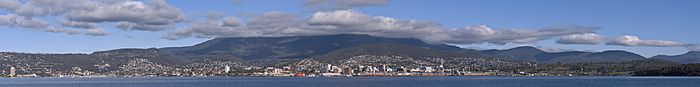 Greater Hobart Panorama