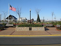 Misty of Chincoteague statue 01