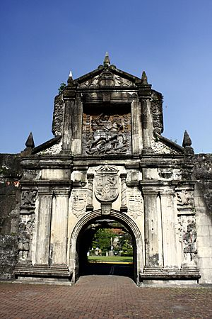 Arch of Fort Santiago