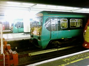 British Rail Class 456 at Victoria