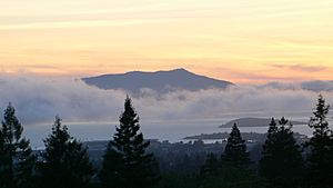 Mount tamalpais from berkeley