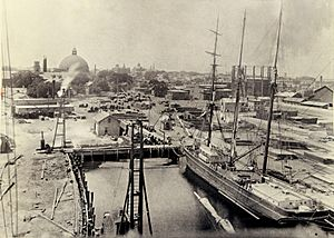 Providence Dry Dock and Marine Co. circa 1910 - 2