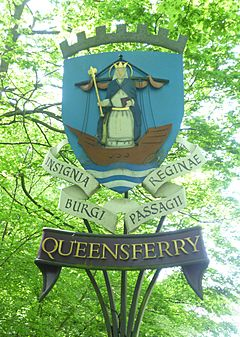 Queensferry sign on the B924.JPG