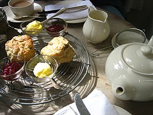 Tea and scones 2