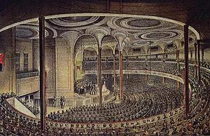 Castle Garden theater 1824