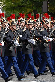 French Republican Guard Bastille Day 2007 n4