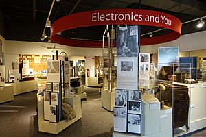 Interior view - National Electronics Museum - DSC00041