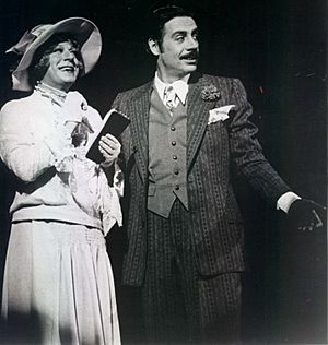 Michael O'Haughey and Jerry Orbach in Chicago musical