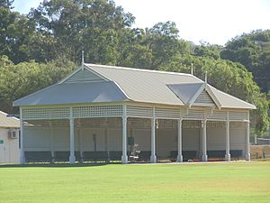 Pavilion in Manners Hill Park, Peppermint Grove, Western Australia.