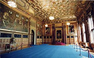 Royal Robing Room, Palace of Westminster