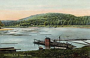 View of Ashley's Ferry, Claremont, NH