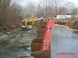 GE Pittsfield MA-Housatonic R Halfmile Cleanup Site-Cell B