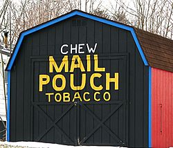 Reproduction Mail Pouch tobacco barn