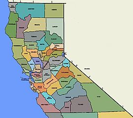 NorCal Counties Map