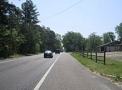 Along Magnolia Road (CR 644)