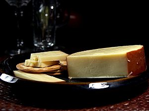 Smoked gouda cheese
