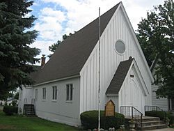 St. Paul's Episcopal Church, a historic site in the village