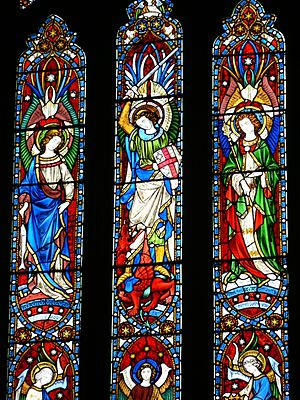 Belmont Abbey, Stained Glass