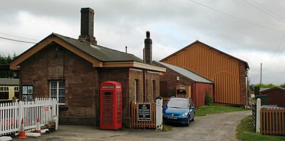 Bishops Lydeard station down side 2009.jpg