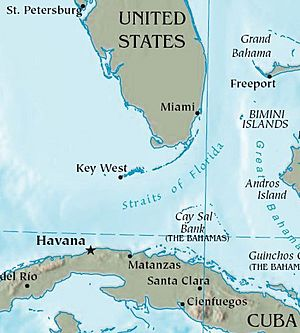 Florida Geography Map.Florida Facts For Kids