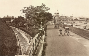 KITLV - 79944 - Kleingrothe, C.J. - Medan - Headquarters of the F.M.S. Railways at Kuala Lumpur - circa 1910