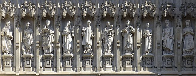 Westminster Abbey - 20th-century Martyrs