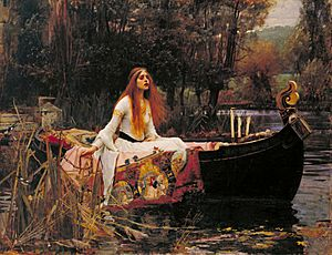 John William Waterhouse - The Lady of Shalott - Google Art Project edit