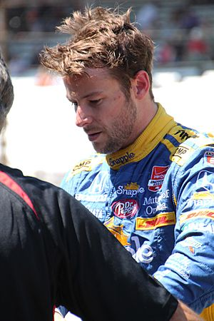 Marco Andretti at Carb Day 2015 - Stierch