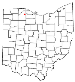 Location of Luckey, Ohio