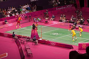 Olympics 2012 Mixed Doubles Final