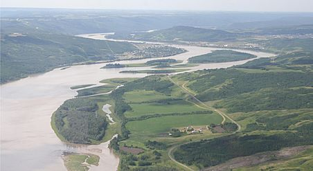 Peace River aerial