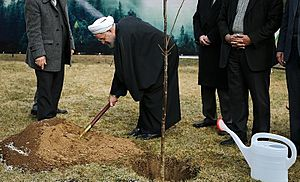 President Rouhani in Arbor Day 03