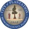 Official seal of Plantation, Florida