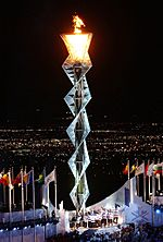 2002 Winter Olympics flame