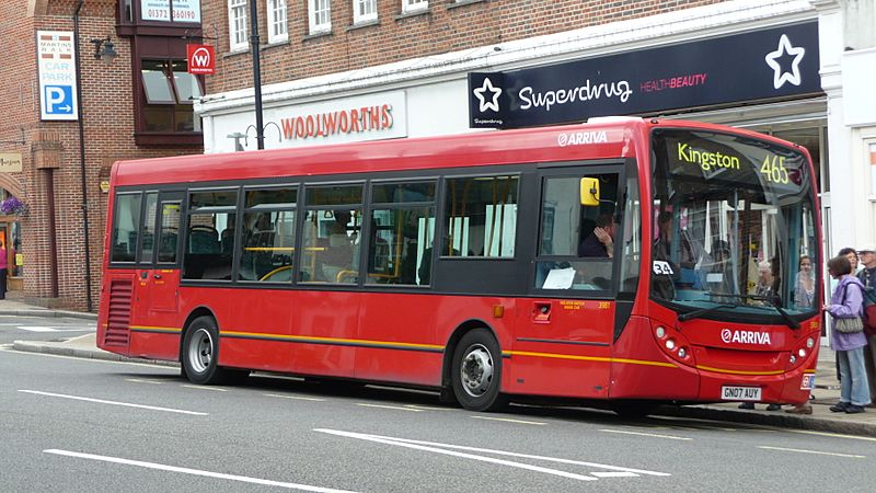 Arriva Guildford & West Surrey 3981 GN07 AUY 2
