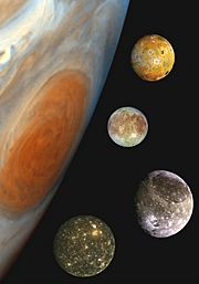 Jupiter and the Galilean Satellites