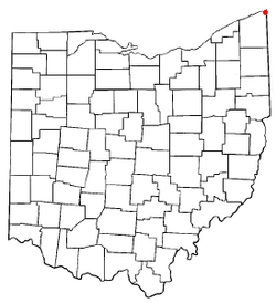 Location of Conneaut, Ohio