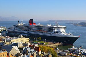 Queen Mary 2 Quebec