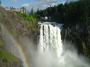Snoqualmie Falls in June 2008
