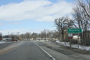 Whitewater Wisconsin Sign WIS59